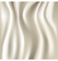 White silk fabric texture vector