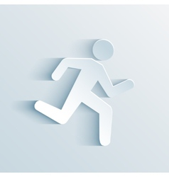Running sign vector