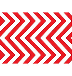 Red and white arrows seamless pattern vector