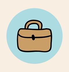 briefcase design vector image