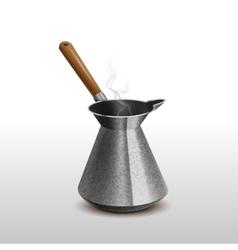 Cezve for coffee restaurants menu vector image vector image