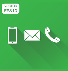 Phone icon business concept smartphone phone vector