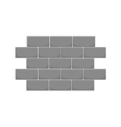 Wall of bricks icon black monochrome style vector