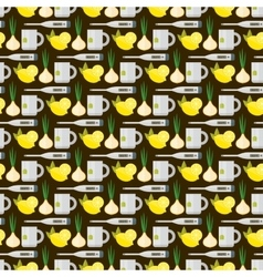 Flu influenza seamless pattern vector