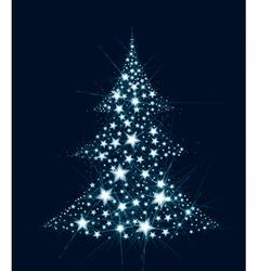 tree star vector image
