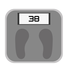 Weight scale icon design vector