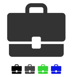 Case flat icon vector