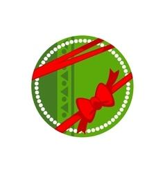 Christmas gift box for holiday vector