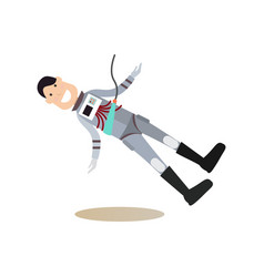 space people concept flat vector image