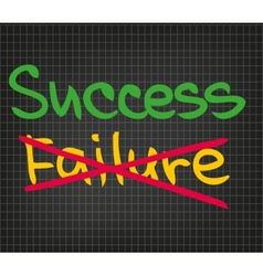Success failure vector