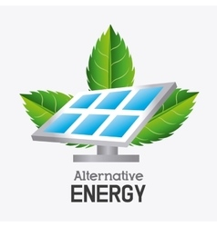 Green energy ecology design vector