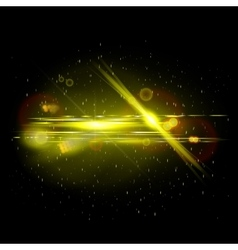 Movie lens flare vector