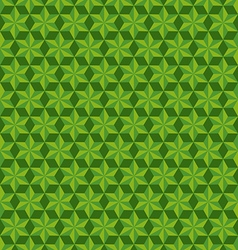 Abstract geometric hexagon seamless patterns vector image vector image
