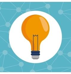 Bulb idea innovation creativity vector