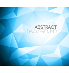 colorful folded paper background vector image vector image