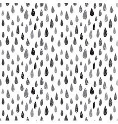 Drops seamless pattern vector