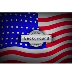 Pattern flag usa background vector