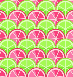 Seamless Pattern with Grapefruits vector image vector image