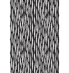 Seamless pattern with stripes black and white hand vector