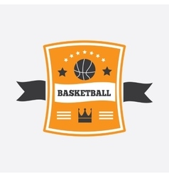 Basketball logo design vector