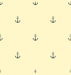 Anchor vintage pattern sea naval background symbol vector