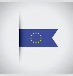 European flag vector