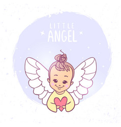 angel vector image
