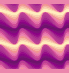 Abstract color wave seamless pattern vector