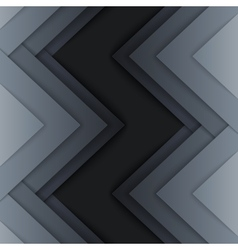 Abstract grey triangle shapes background vector image vector image