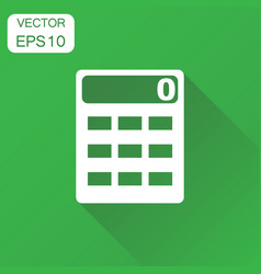 Alculator icon business concept alculator vector