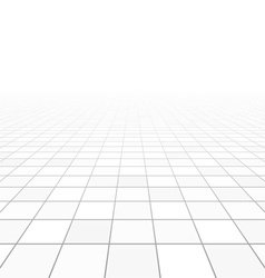 Floor tiles perspective vector image