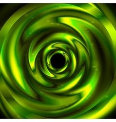 Green abstraction vector image