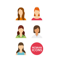 people avatars community group vector image vector image