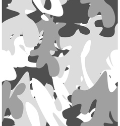 seamless camouflage pattern vector image