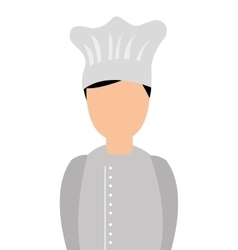 Chef man avatar character vector