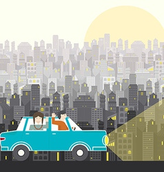 Road Trip vector image