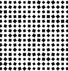 Squares pattern black and white background vector