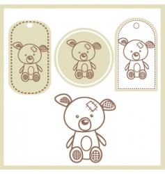 baby bear vector image vector image
