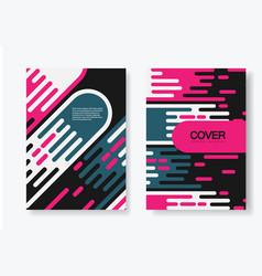 Comet background cover design set vector