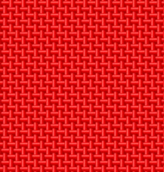 Red cloth texture vector image vector image