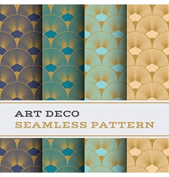 Art deco seamless pattern 15 vector