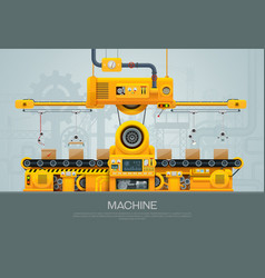 machine vector image
