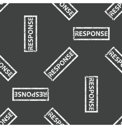 Rubber stamp response pattern vector