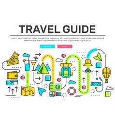 Travel infographic icons items design vacation vector