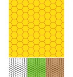 Bee cells seamless texture vector
