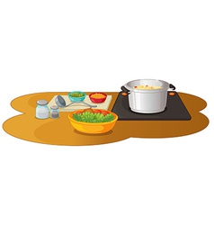 Food preparation vector