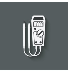 Digital multimeter symbol vector