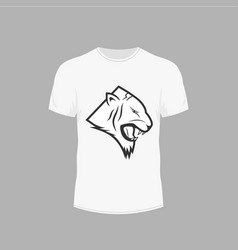 clothing design t-shirt vector image