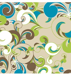 Beautiful seamless background vector