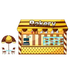 A bakery shop vector image vector image